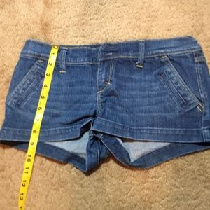 Abercrombie Jean shorts size 4